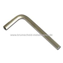 Aluminium-L-Bogen 90°